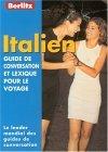 Italian Berlitz Phrase Book for French Speakers