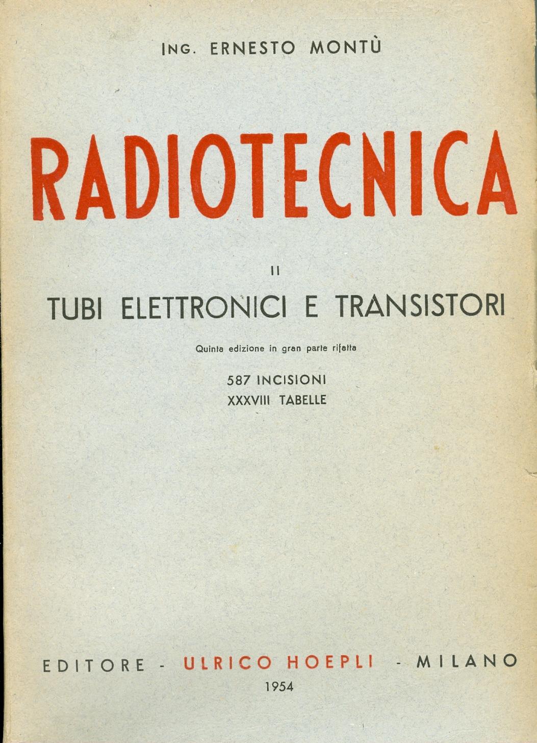 Radiotecnica - Vol. ...