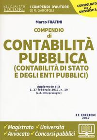 Compendio di contabilità pubblica (contabilità di Stato e degli enti pubblici)