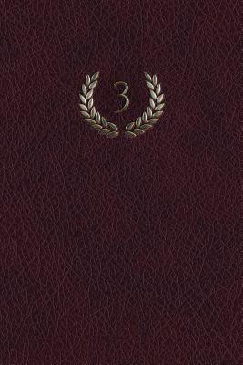 Monogram 3 Blank Book