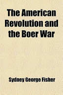The American Revolution and the Boer War
