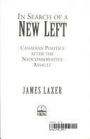 In search of a new left