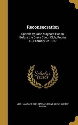 RECONSECRATION