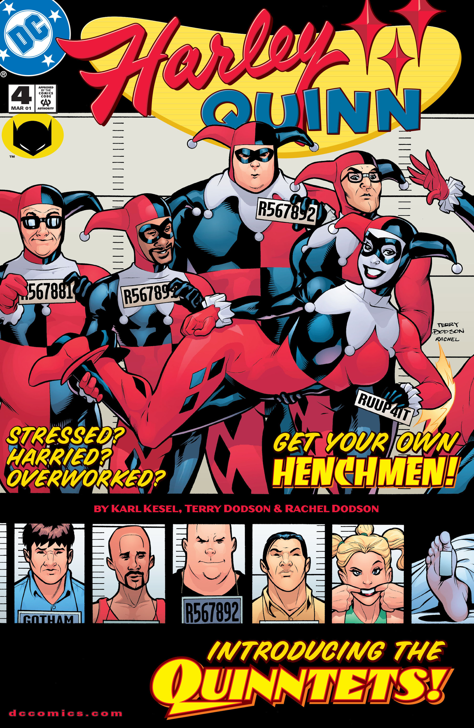 Harley Quinn Vol.1 #4