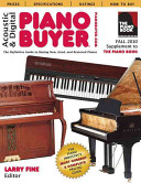 Acoustic and Digital Piano Buyer Fall 2010