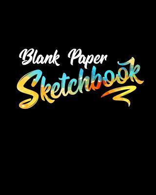 Blank Paper Sketchbo...