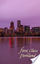 First Class to Portland