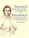 Paganini's Violin Concerto No. 1 in D Major, Op. 6,