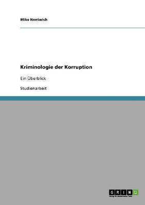 Kriminologie der Korruption