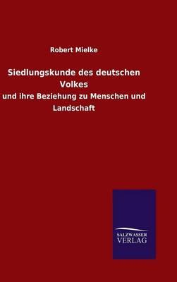 Siedlungskunde des deutschen Volkes