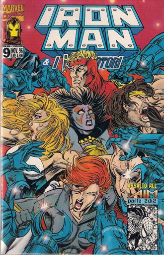 Iron Man e i Vendicatori n. 9