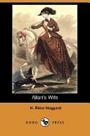 Allan's Wife (Dodo Press)