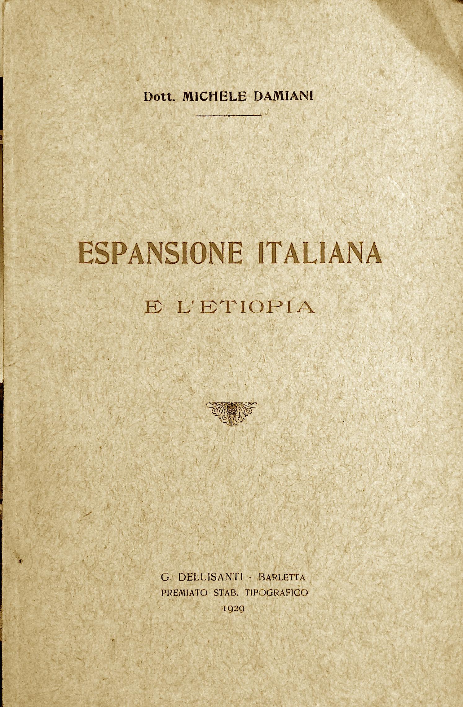 Espansione italiana e l'Etiopia