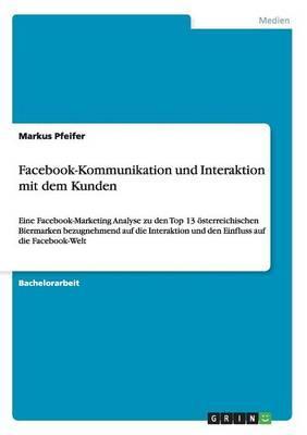 Facebook-Kommunikation und Interaktion mit dem Kunden