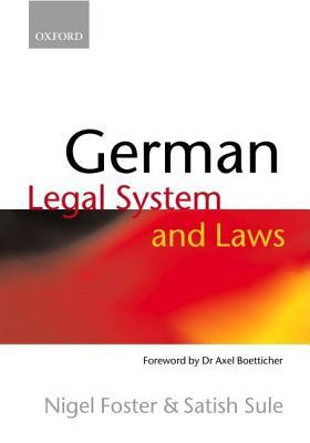German Legal System and Laws