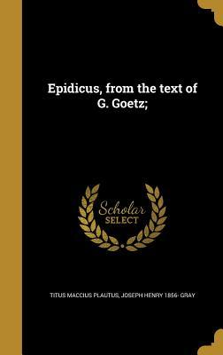 LAT-EPIDICUS FROM THE TEXT OF