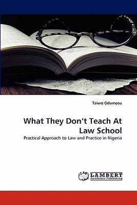 What They Don't Teach At Law School