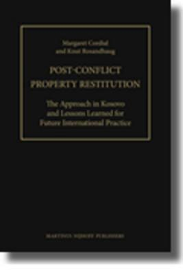 Post-Conflict Property Restitution