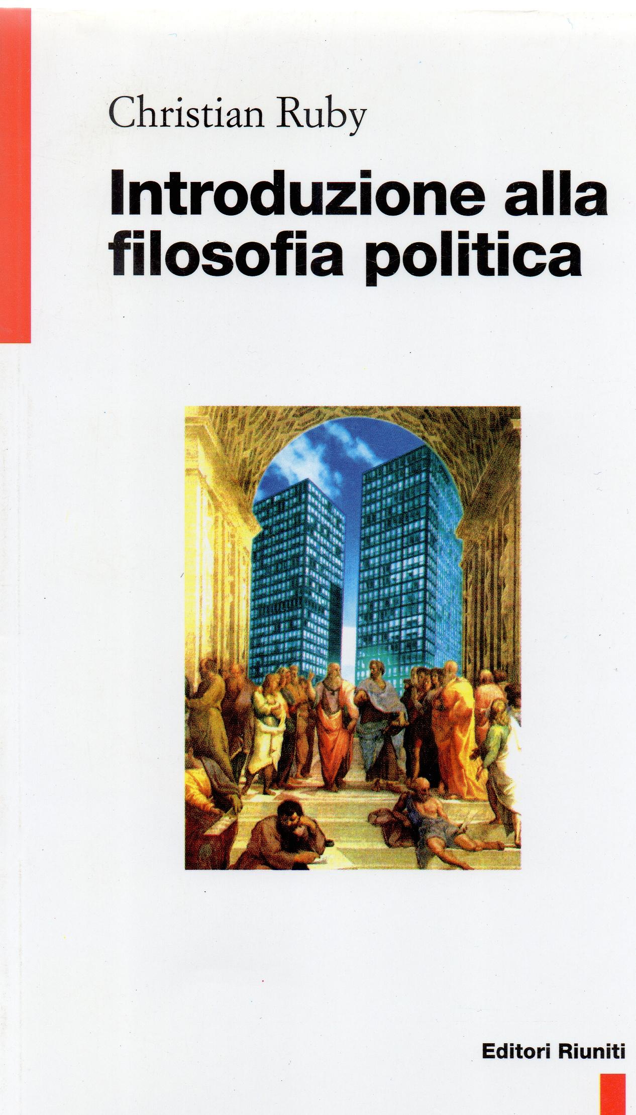 Introduzione alla filosofia politica