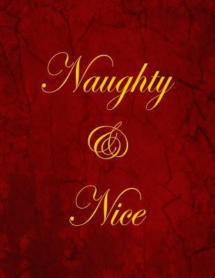 Naughty & Nice Blank/Lined Notebook