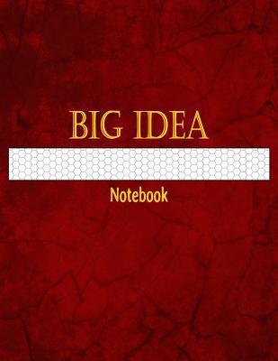 Big Idea Notebook 1/4 Inch Hexagonal Graph Ruled