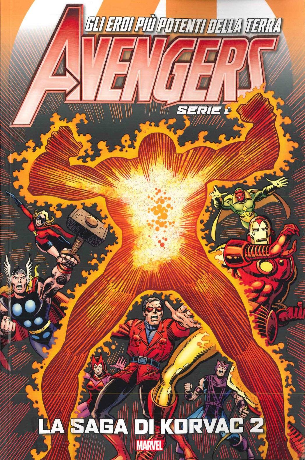 Avengers - Serie Oro vol. 15