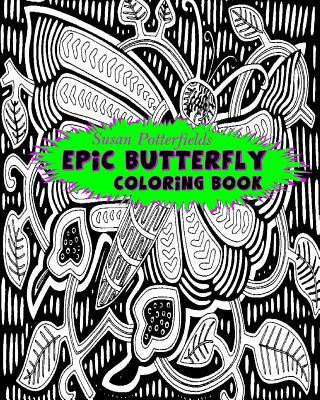 Epic Butterfly Coloring Book