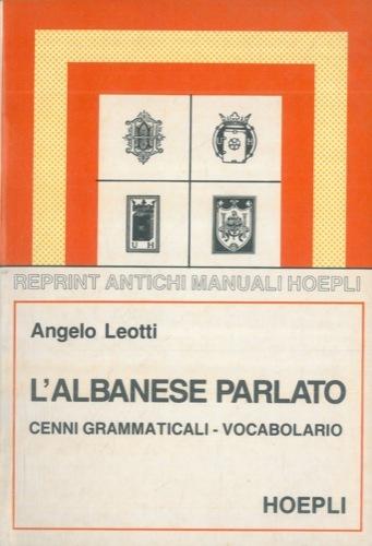 L'albanese parlato