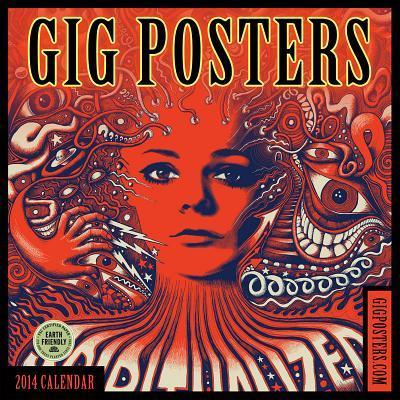 Gig Posters 2014 Calendar