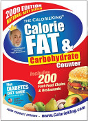 The CalorieKing Calorie, Fat and Carbohydrate Counter