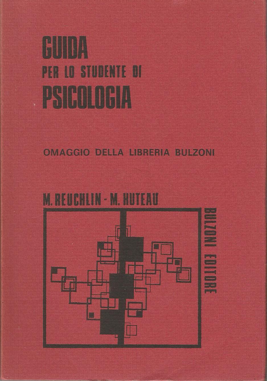 Guida per lo studente di psicologia