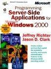 Programming Server-Side Applications for Microsoft Windows 2000