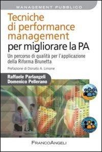 Tecniche di performance management per migliorare la P.A. Un percorso di qualità per l'applicazione della Riforma Brunetta