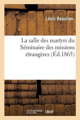 La Salle des Martyrs du Séminaire des Missions Étrangères