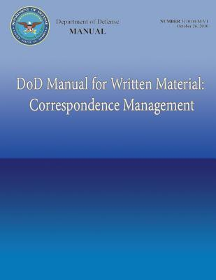 Dod Manual for Written Material