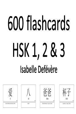 600 Flashcards Hsk 1, 2 & 3