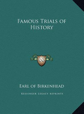 Famous Trials of History Famous Trials of History