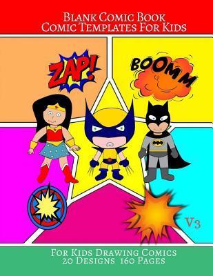 Blank Comic Book Com...