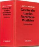 Gesetze des Landes Nordrhein-Westfalen(mit Fortsetzungsnotierung). Inkl. 94. Ergänzungslieferung