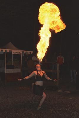Circus Fire Eater Journal