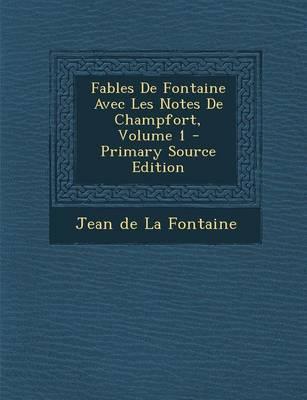Fables de Fontaine A...