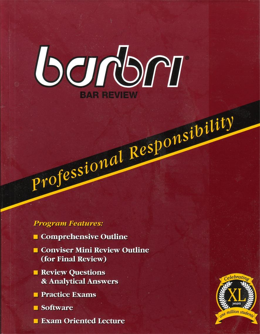 BarBri Professional ...
