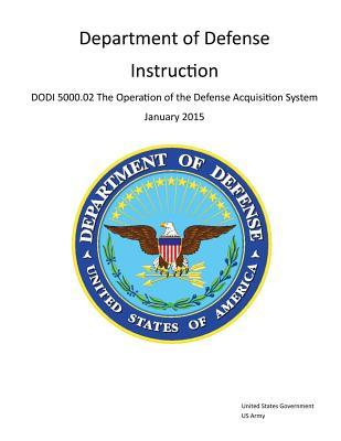 Department of Defense Instruction Dodi 5000.02 the Operation of the Defense Acquisition System January 2015