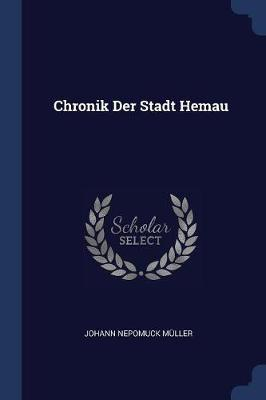 Chronik Der Stadt Hemau