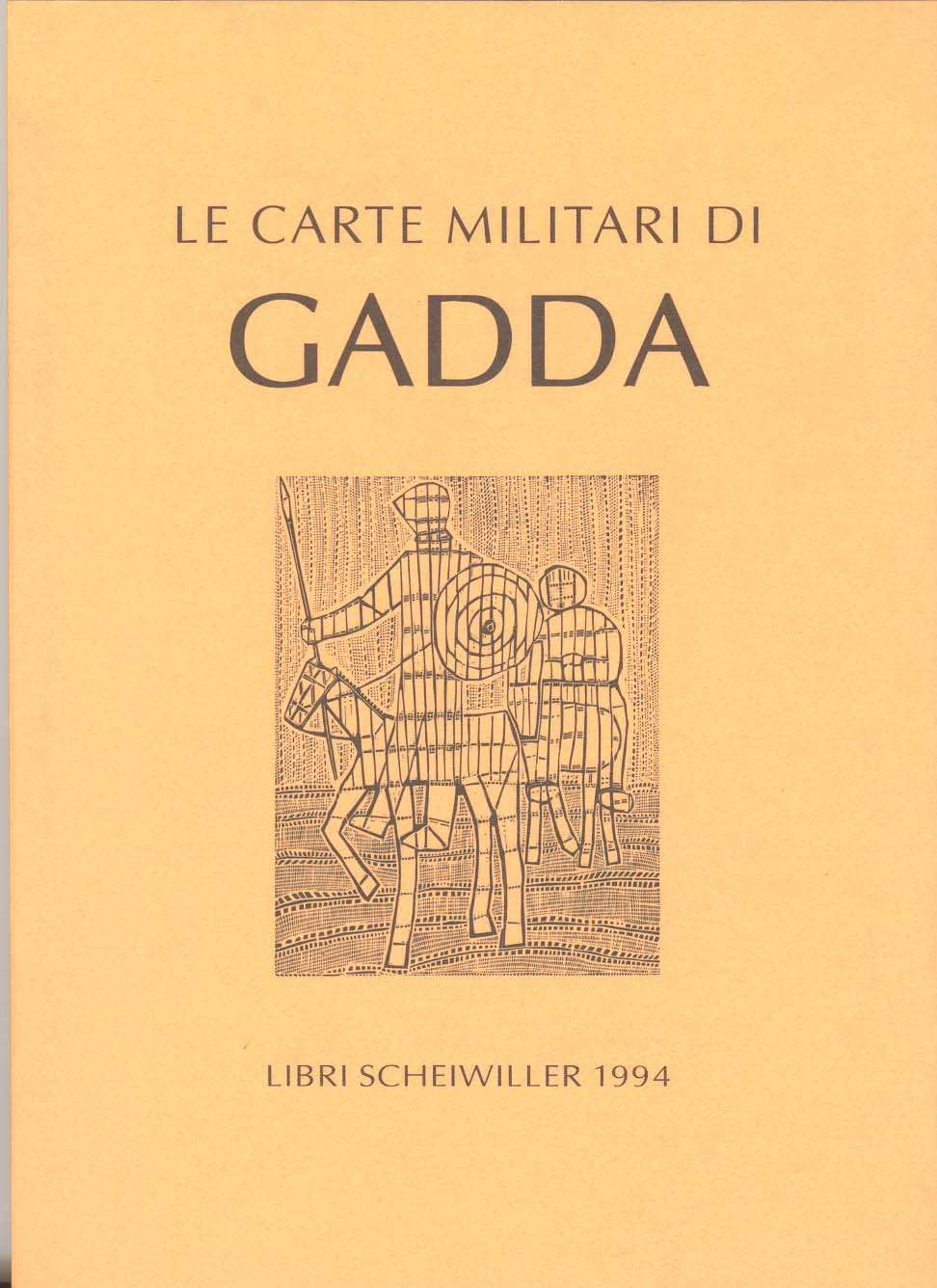 Le carte militari di Gadda