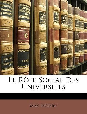 Le Rle Social Des Un...