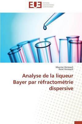 Analyse de la Liqueur Bayer par Refractometrie Dispersive