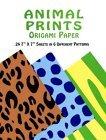 Animal Prints Origami Paper