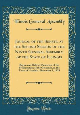 Journal of the Senate, at the Second Session of the Ninth General Assembly, of the State of Illinois
