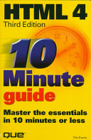 10 Minute Guide to Html 4.0